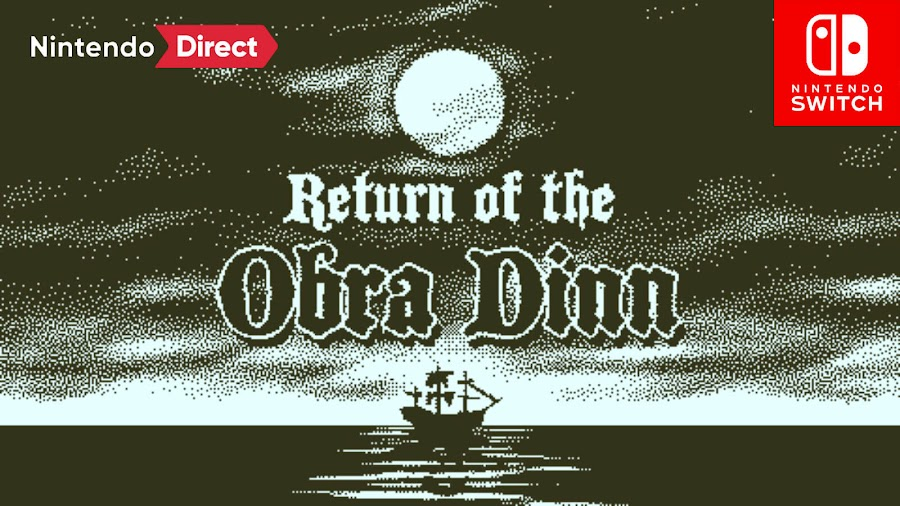 teturn of the obra dinn nintendo switch first-person mystery adventure puzzle lucas pope east india company ghost ship