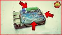 Motor HAT Board (con 4× DC o 2× Stepper, 4× PWM Servo, IR Receiver e I2C) per Raspberry Pi