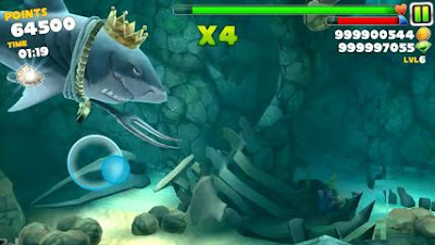 Download Hungry Shark Evolution v4.6.0 Apk