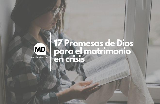 Promesas de Dios para el matrimonio en crisis