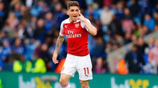 Arsenal midfielder Lucas Torreira on AC Milan radar