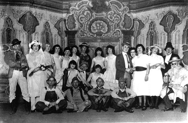 Womanless wedding, circa 1935