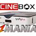 Cinebox Fantasia HD Duo Nova Atualização SKS 22W - 08/09/2016