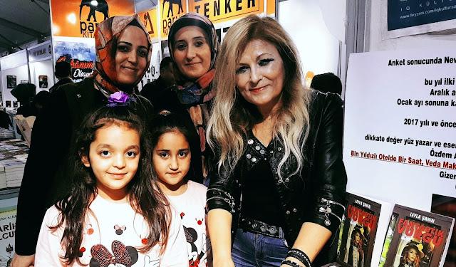 Yazarımız Leyla Şahin Osmaniye Kitap Fuarı'nda