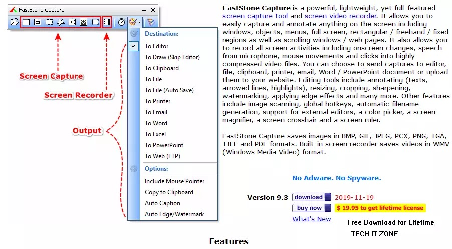 FastStone Capture 9.3 with Crack Free Download
