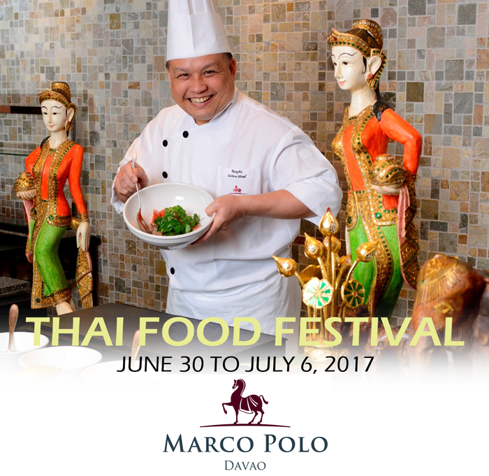 An ode to Thai Culinary Journey at Marco Polo Davao