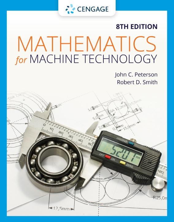 Mathematics for Machine Technology, Eighth Edition
