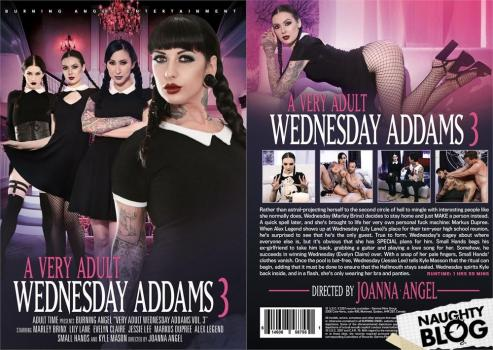 A Very Adult Wednesday Addams # 3 (2020/HD)