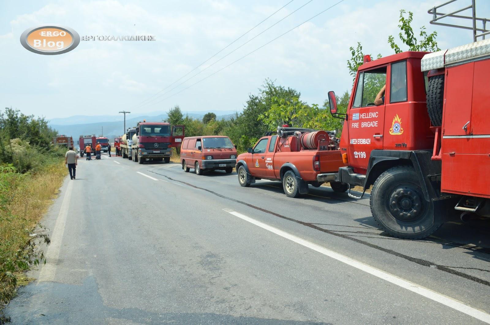 Απαγόρευση κυκλοφορίας στη Χαλκιδική λόγω πολύ υψηλού κινδύνου πυρκαγιάς