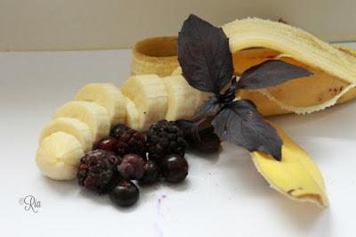 Banaan, braam, blauwe bes, basilicum