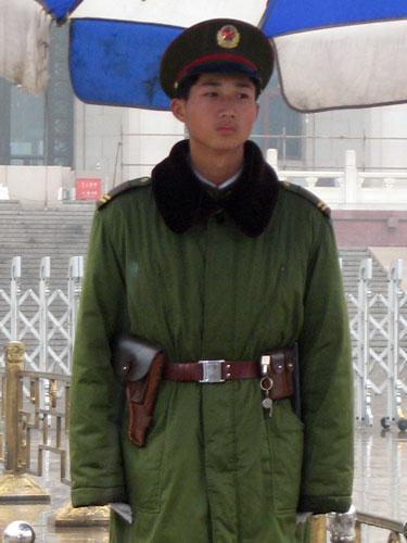 People's Armed Policeman, Beijing