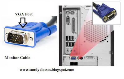 How does it work?, VGA port