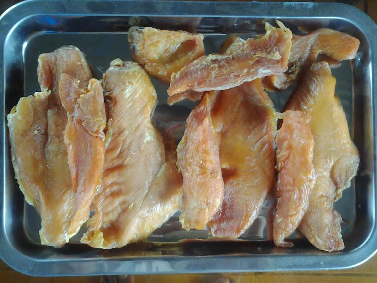 Thịt gà sấy