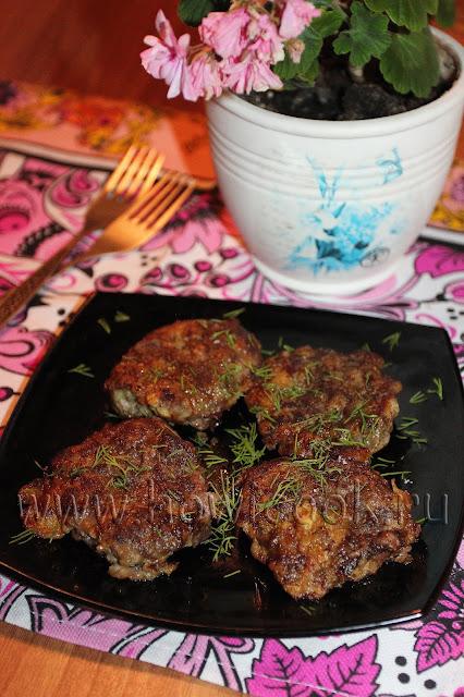 рецепт отбивных из говяжьей печени