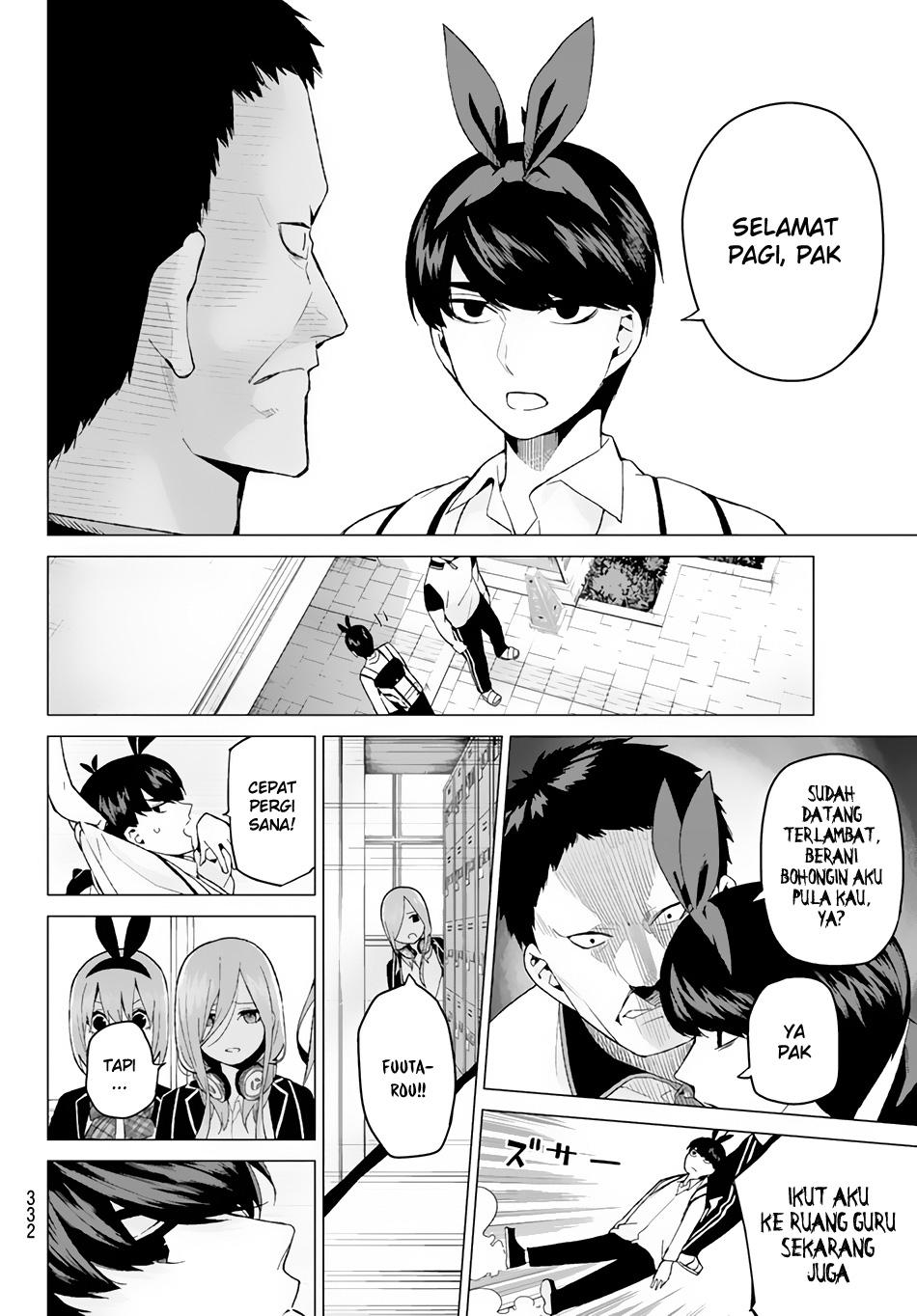 Baca Komik Go-Toubun No Hanayome Chapter 19 Bahasa Indonesia