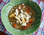 Easy and delicious, Green Bean Soup.
