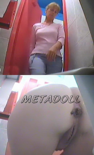Hidden cam pissing and shitting compilation in the women's toilet (Voyeur Poop Compilation 04)