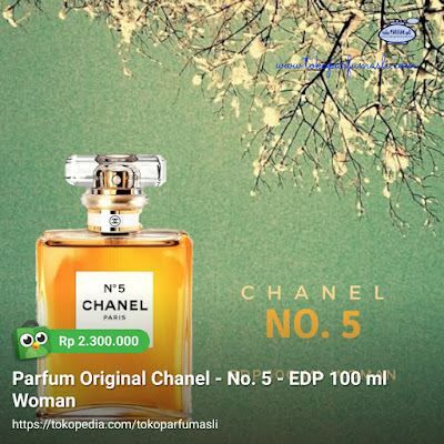 toko parfum asli parfum original chanel no. 5 edp 100ml