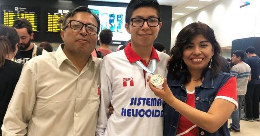 MIJAÍL GUTIÉRREZ BUSTAMANTE: Escolar peruano ganó medalla de oro en la XXVIII Olimpiada Matemática Rioplatense (OMR) Argentina