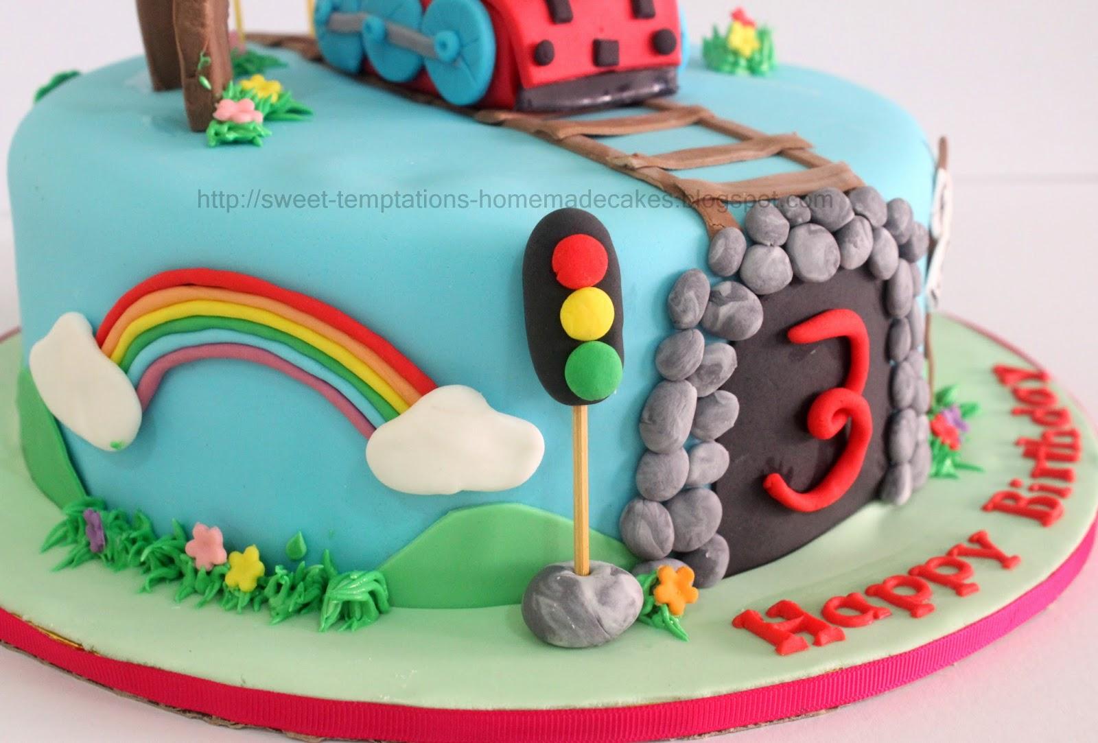 Sweet Temptations Homemade Cakes Amp Pastry Thomas Train Cake