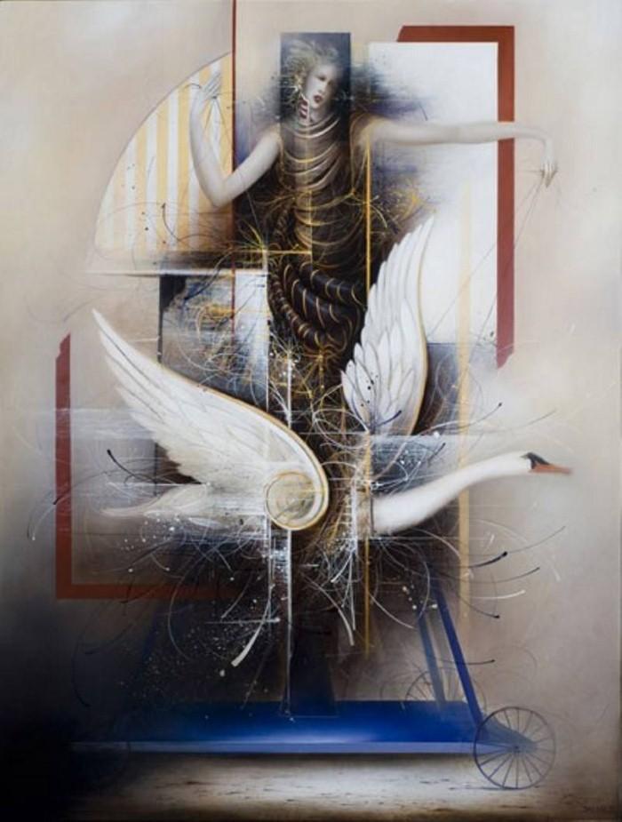 Современные художники Бельгии. Jean-Claude Dresse 17