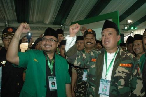 GP Ansor dan Banser satu komando bela KH Maruf Amin