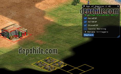 Age of Empires 2 HD Sınırsız Kaynak, ESP Menu Hilesi İndir 2020