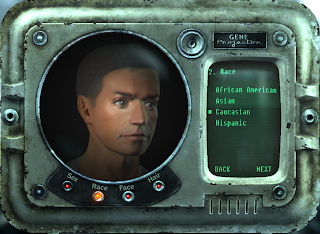 Creazione personaggio fallout 3