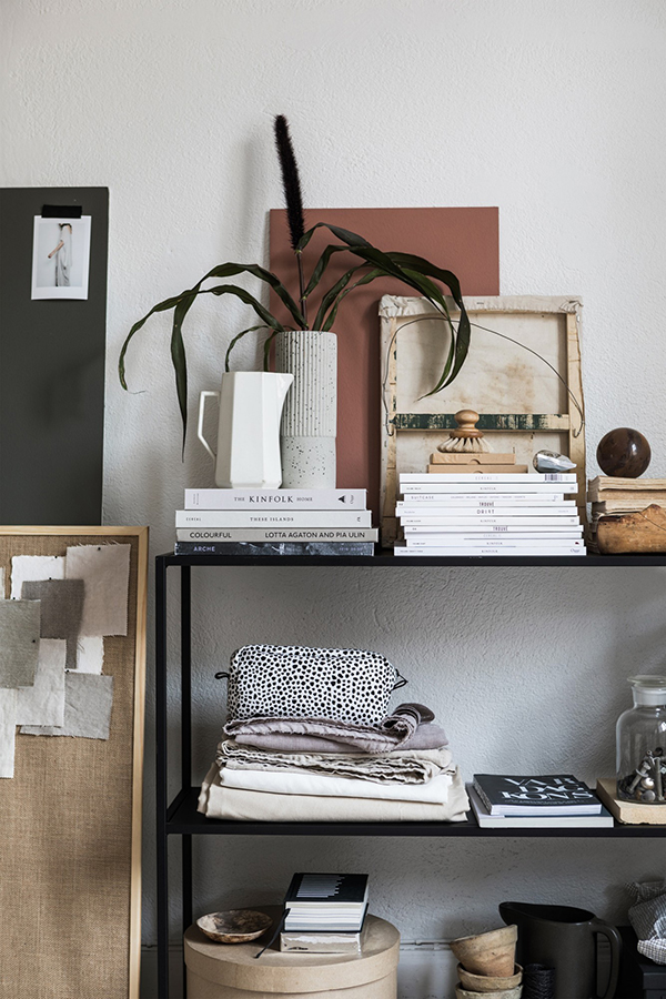 ideas for a feminine office.