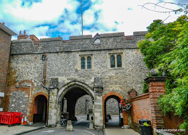 Kingsgate, antigo acesso ao palácio real de Winchester