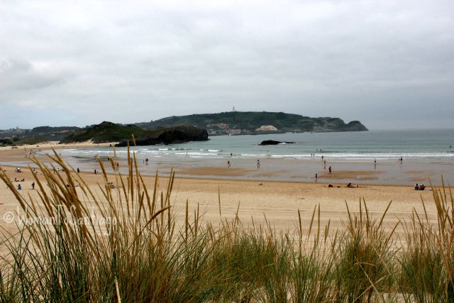 foto playa de ris en noja