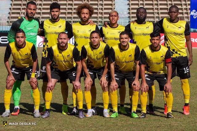 تعرف على تشكيل وادي دجلة لمواجهة مصر المقاصة في الدوري الممتاز