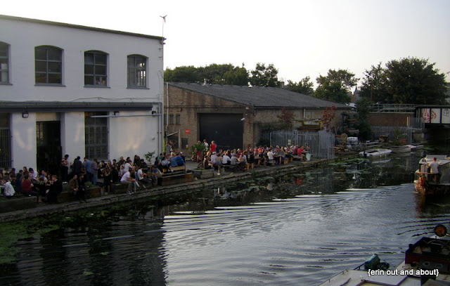 {Erin Out and About} Must do walk in London: East End Canal
