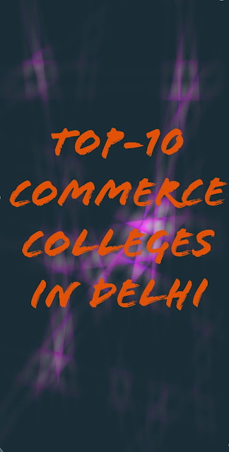 Colleges of DU for commerce