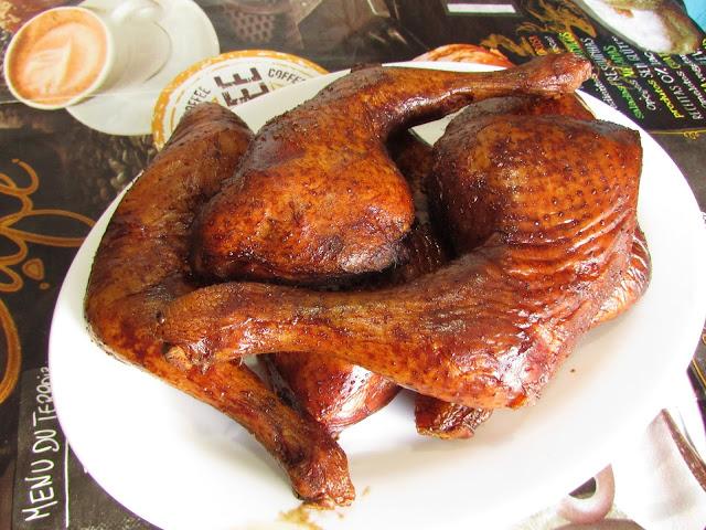 wędzone udka kurczaka