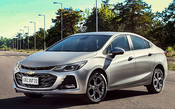 Novo Chevrolet Cruze 2021