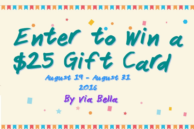 Enter to Win a $25 Online Gift Card!, FlyBy Promotions, Give away, FamilyChristian.com, Promotions, Sales, Product Review, Site Review, Via Bella, Enter to Win, Family Site, Shopping