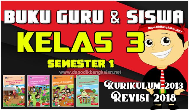buku kelas 3 K13 Revisi 2018 Semester 1