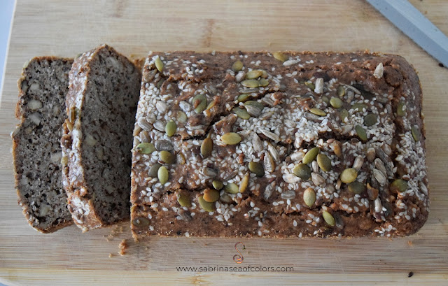 Pan de nueces y semillas ¡Keto!