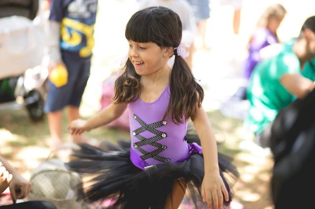 fantasia bruxinha bailarina diy para menina halloween