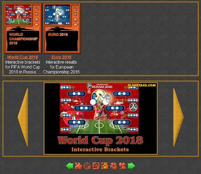 Interactive Sport Brackets