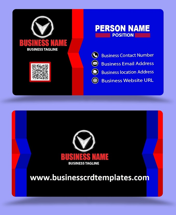 blue and black background creative business cards templates psd eps free download