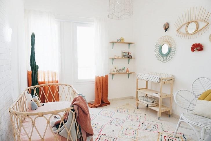 Tendencia habitaci n beb s 2018 desde mi interior deco - Adornos habitacion bebe ...