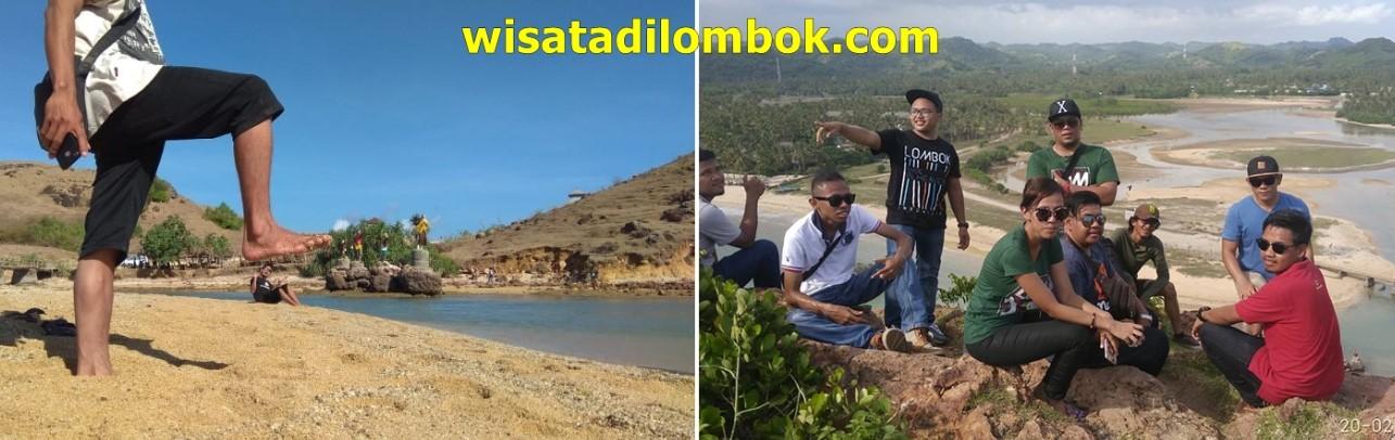 Mengunjungi Pantai Seger Tour Kuta Lombok