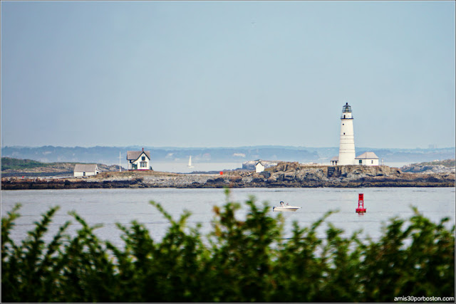 Boston Light desde Hull