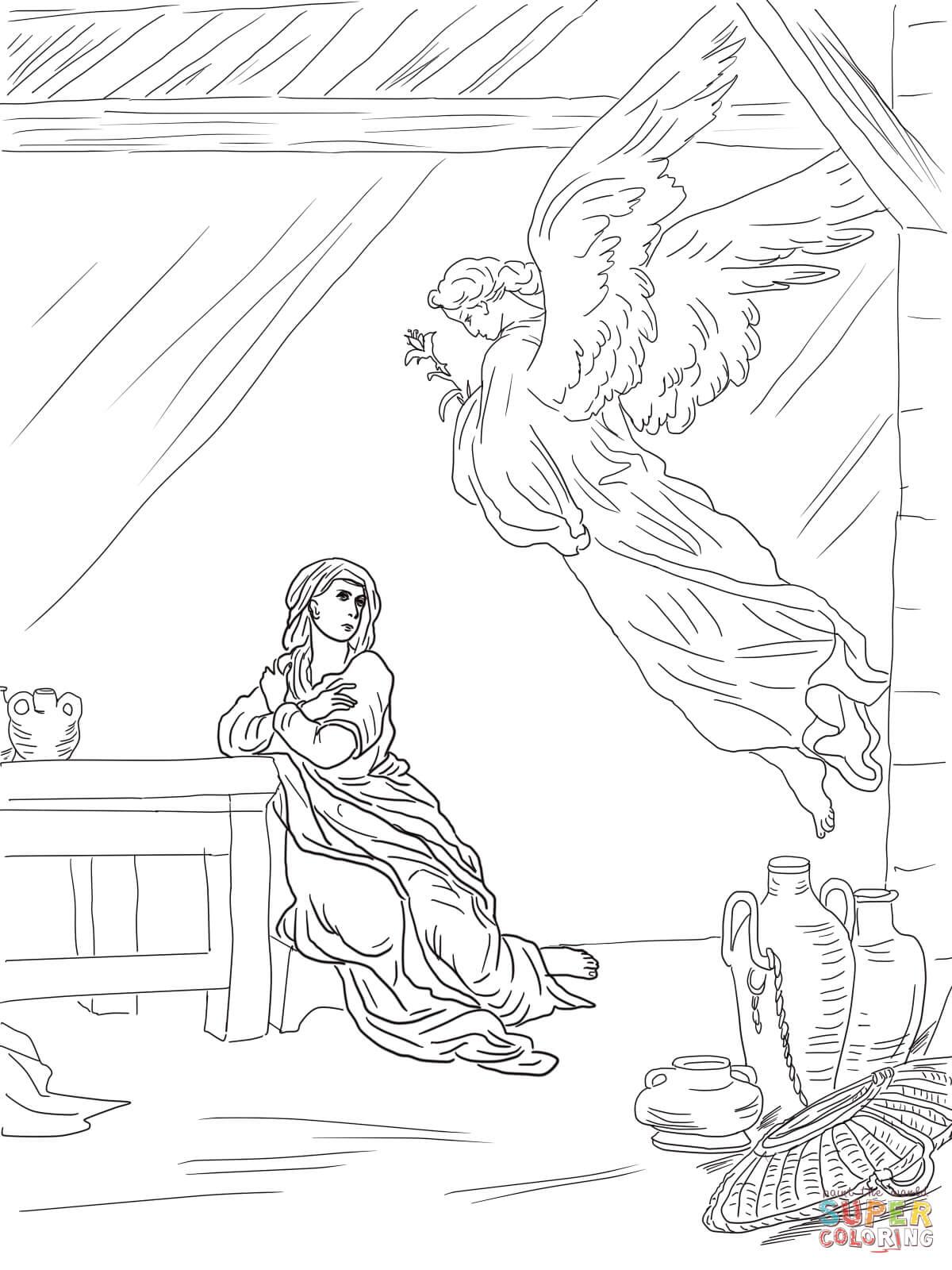 Ausmalbilder Engel Mit Herz