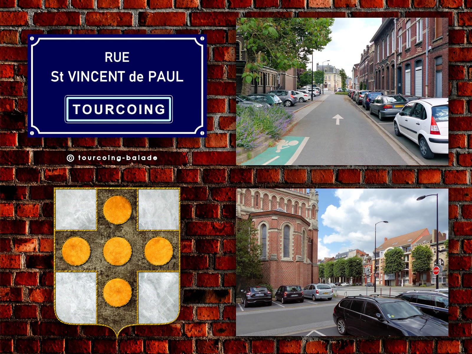 Rues de Tourcoing - Saint Vincent de Paul