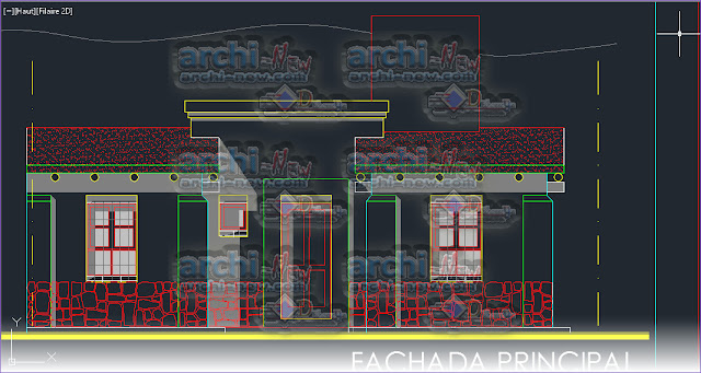 download-autocad-cad-dwg-file-rural-housing-in-Argentina