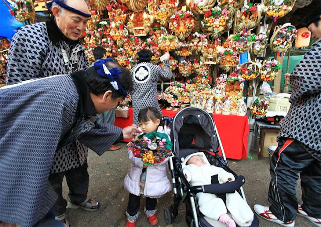 The Tori no Ichi Market - a fair that brings luck to the household