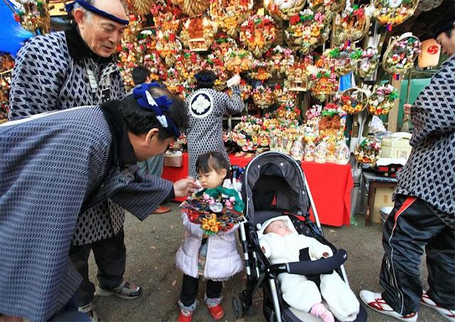 The Tori no Ichi Market - a fair that brings luck to the household
